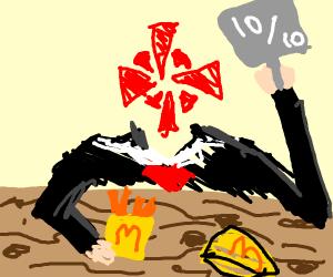IGN reviewing McDonald's