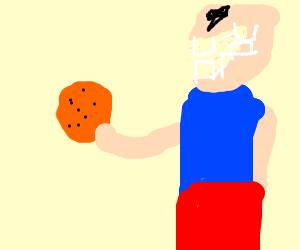 Someone who want to eat orange