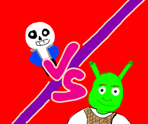 Sans vs Shrek