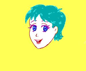 Anime Boy/girl w/ blue eyes