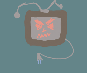 Television attack