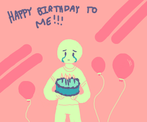 A lonely Birthday Party