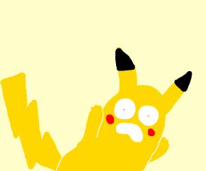 Starry-eyed Pikachu