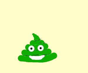 Goblin poop emoji
