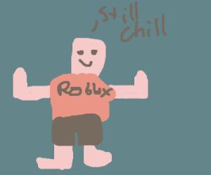 A tposing Robloxian