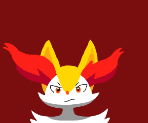Angry Braixen