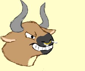 Angry Minotaur is angry