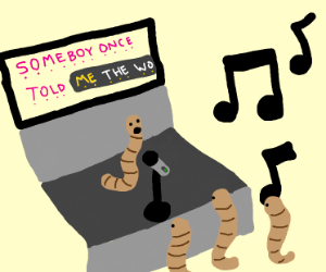 Worm Karaoke night