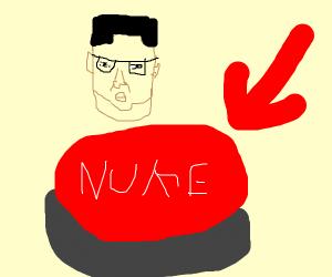 Kim Jong Un's Nuke Button.