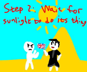 Step 1: Fight a British vampire in Egypt