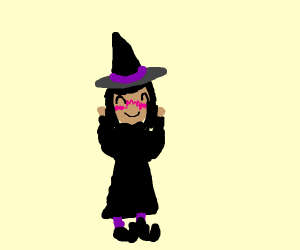 lil blushing witch