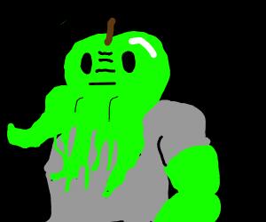 Buff Green Apple Cthulhu