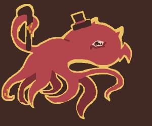 Dapper demonic octopus