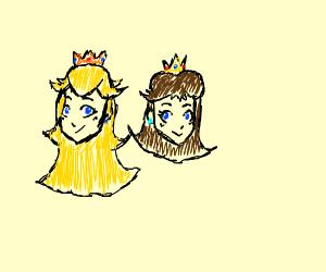 Daisy and Peach
