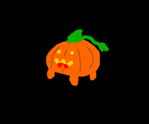 Pumpkin Dog from SU