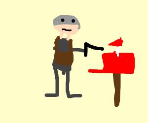 Robocop Mail Carrier