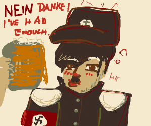 "drunk hitler says ""nein"""