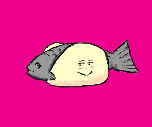 Fish Taco is in love with the fish inside him