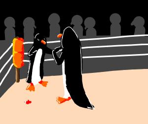 Club Penguin Fight