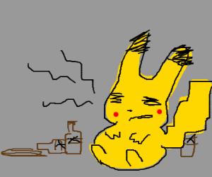 Pikachu's Hangover
