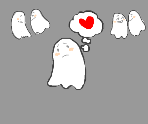 some random ghost want love