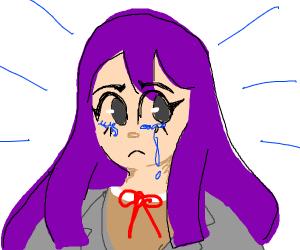 yuri is crying