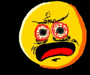 cursed emoji screams