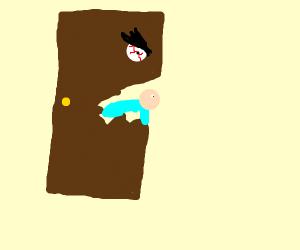 door eats couple's youngest child