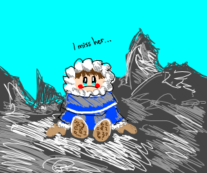 Ice climber misses his wife