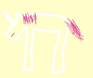 pink hair unicorn (sub 2 pewds)