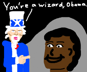 you're a wizard, Obama
