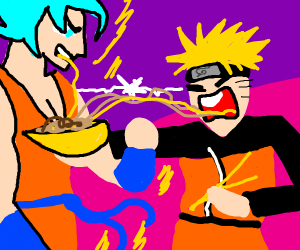 Epic anime battle