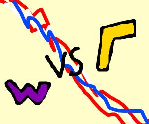 wario vs waluigi