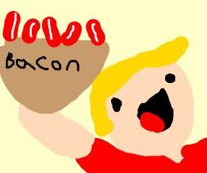 bacon basket