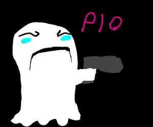 Ghost w/ pistol (PiO)