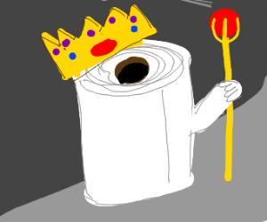 King of toilet paper