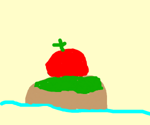 Tomato on an Island