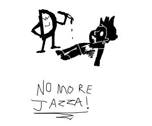 Drawcwption fan kills jazza