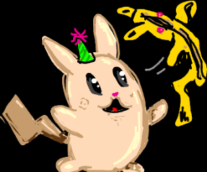 naked pikachu party