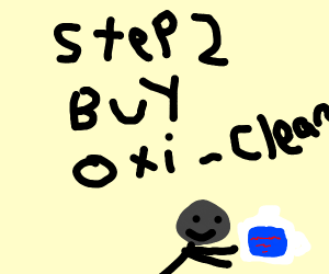 step 1:go to the store