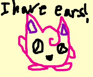 Jigglypuff grew ears