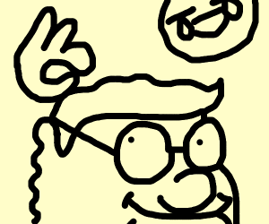 Draw something outlandish