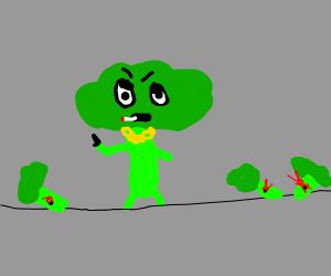 Broccoli gone bad