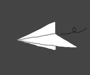 oragami aeroplane