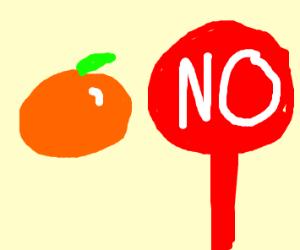 no orange, yes corral