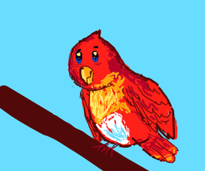 Smol Birb Is Coming For You. >:3