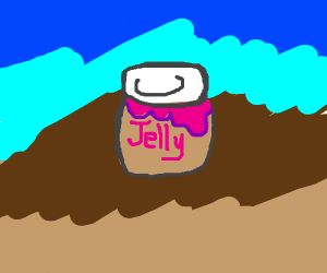 Can of jelly