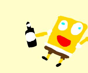 Drunk Spongebob