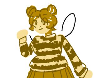Cute Bee Girl