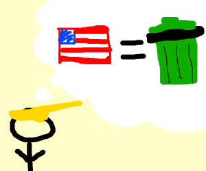 Guy Says America Is Trash